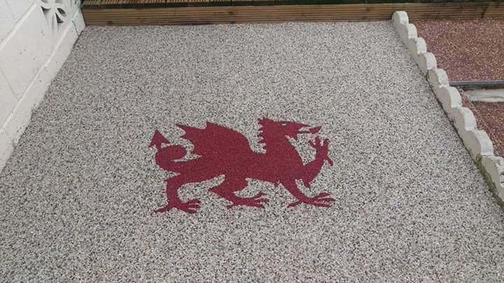welsh dragon design