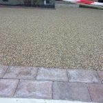 resin paved area