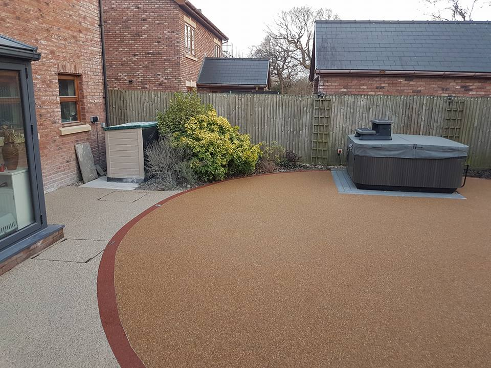 resin landscaping in Llanelli